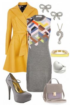 fall/spring - Outfit styled on Fantasy Shopper #fashion #style (different shoes perhaps)