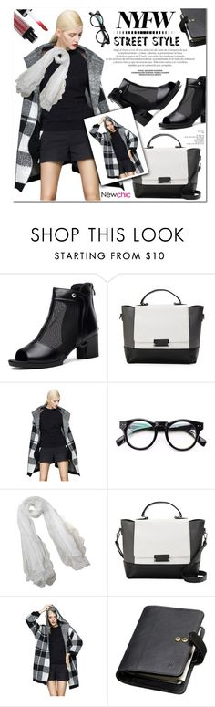 """NYFW DAY 1 (#lovenewchic)"" by nanawidia ❤ liked on Polyvore featuring Mulberry, newchic and halterdresses"