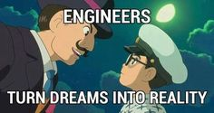 Turn your dreams into reality Im An Engineer, Engineering Memes, Bujo, Dreaming Of You, Trust, Jokes, Student, Dreams, Technology