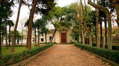 San Carlos de Borromeo, El Bocal, Fontellas.  Uno de los lugares más bellos y emblemáticos de la Ribera de #Navarra