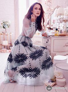 Keira Knightley для журнала Harper's Bazaar UK