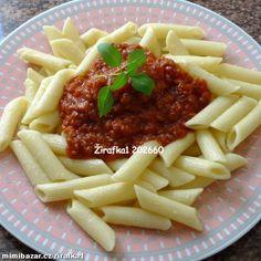 Boloňská omáčka z čerstvých rajčat My Little Pony, Pasta, Beef, Food, Bulgur, Meat, Essen, Meals, Mlp