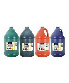 This Art-Time Gallon Paint Set by Sargent Art is perfect! #zulilyfinds