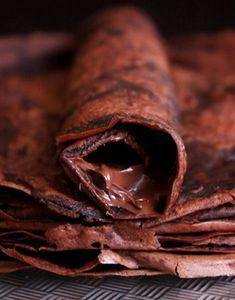 Recipe Goodness: Cocoa Crepes | eatwell101.com