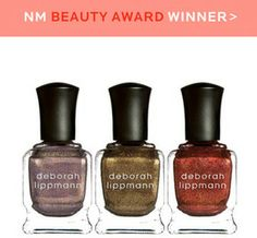 Deborah Lippmann Limited Edition Rock This Town Set NM Beauty Award Winner 2013