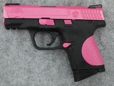 Smith and Wesson M&P 9mm shield pink      I want this but in a 40
