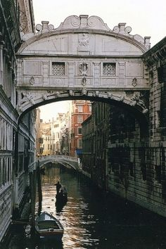 Venice - Bridge of Sighs by WVJazzman, via Flickr by cristina
