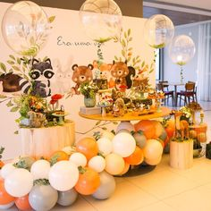 Shower Bebe, Baby Shower Fall, Baby Shower Themes, Baby Boy Shower, Forest Party, Woodland Party, Woodland Theme, Boys First Birthday Party Ideas, Baby Birthday