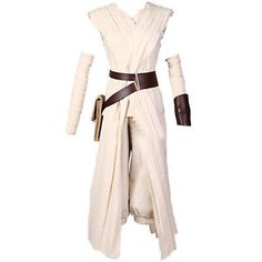 Damen-Star-Wars-Rey-Force-Awakens-Kostueme-Cosplay-Kostuem-Fuer-Halloween-Kleidung