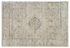 Silas Rug, Beige/Blue | Two Ways to Traditional | One Kings Lane