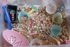 Baking sensory tub