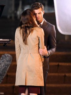New 'Fifty Shades' pic shows Ana kissing Christian — PHOTO | EW.com