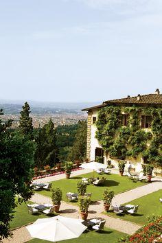 condenasttraveler:  Luxury in Florence | Villa San Michele, Fiesole