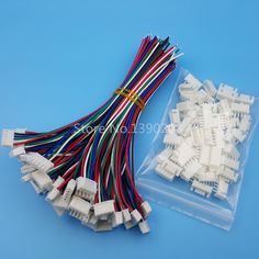 Best Price 50Sets XH Pitch 2.54mm 5Pin Single-Head Wire To Board Connector 15cm 24AWG With Socket #50Sets #Pitch #2.54mm #5Pin #Single-Head #Wire #Board #Connector #15cm #24AWG #With #Socket
