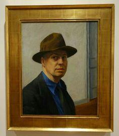 旅人からのメッセージ その4  Edward Hopper, Self Portrait, 1925–30. Oil on canvas, 25 1/4 × 20 5/8 in. (64.1 x 52.4 cm). Whitney Museum of American Art, New York; Josephine N. Hopper Bequest  70.1165