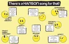 There's a Hanson song for everything!