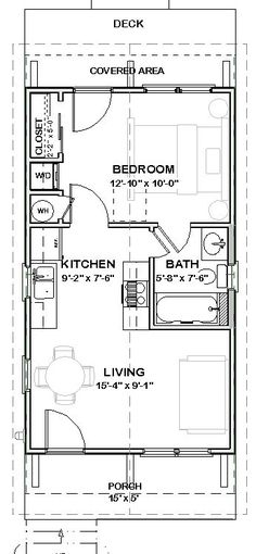 Total Heated Living Area: 448 sq ft Total Sq Ft Under Beam: 544 sq ft:
