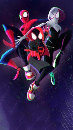 Top Spiderman Wallpapers - Homecoming, Into the Spider-Verse - Update Freak Spiderman Kunst, Spiderman Spider, Amazing Spiderman, Marvel Dc Comics, Marvel Heroes, Marvel Avengers, Spiderman Marvel, Ms Marvel, Captain Marvel