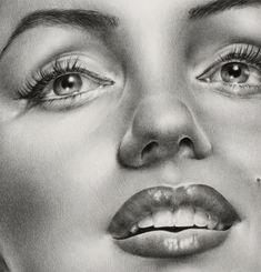 """Marilyn Monroe drawing by """"Ileana-S"""" on deviantArt"""