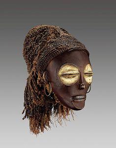 Chokwe Mwana Pwo (Young Woman) Mask, Angola http://www.imodara.com/post/96176414689/angola-chokwe-mwana-pwo-young-woman-mask