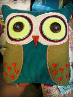 Stuffed Owl Paper Source