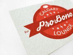 Calgary ProBono Lounge Logo by Cody Thompson, via Behance