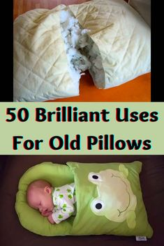 Instead of throwing your old pillows away, why not put them to other innovative uses? Check out these amazing hacks to find new uses for your old but still useful pillows.