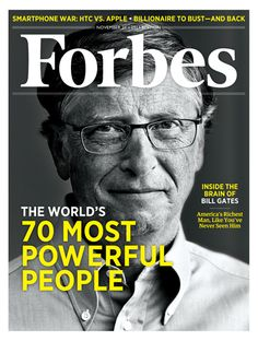 I photographed Bill Gates for Forbes magazine. This was my 8 minutes with Bill Gates. Bill Gates photos are available for editorial license Photo of Bill Gates on the cover of Forbes Magazine