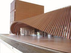 Concept Models Architecture, Architecture Model Making, Architecture Concept Diagram, Architecture Details, Parametric Architecture, Pavilion Architecture, Parametric Design, Sustainable Architecture, Residential Architecture