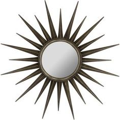 @Overstock.com - Tokyo Mirror - The Tokyo Mirror will make an ideal center piece for any wall in your home. This stunning star burst wall mirror boasts a lovely bronze finish that will accentuate any decor.  http://www.overstock.com/Home-Garden/Tokyo-Mirror/8409512/product.html?CID=214117 $189.99