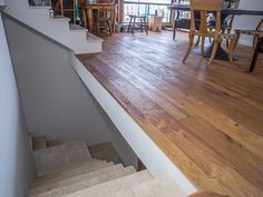 One of our most popular floors, the natural European White oak floors stand up to generations of use and are easily oiled to maintain the beauty of it's matte finished look. Wide Plank Flooring, Vinyl Flooring, White Oak Floors, Reclaimed Timber, Stone Tiles, Beams, Hardwood Floors, Interior Decorating, House Design