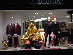 Andrés Sánchez tiene ropa de caballero con una tendencia y estilo claramente marcado, por ello su escaparate ha de ser un fiel reflejo de ello. #escaparatismo #visual #merchandaising #escaparate