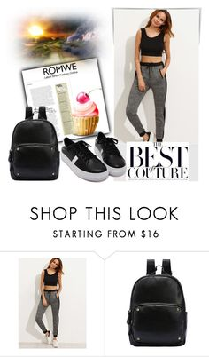 """""""Romwe 16/7"""" by melissa995 ❤ liked on Polyvore"""