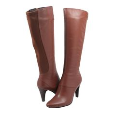 SoleMani Women's Slim Collection Ana Knee-High Dress Boots
