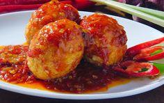 Resep cara membuat telur balado padang http://resepjuna.blogspot.com/2016/04/resep-telur-balado-padang-pedas-nyo.html masakan indonesia