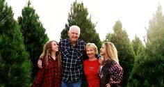 Chuck & Maureen Peltzer with their granddaughters. Christmas Tree Photography, Pine Christmas Tree, Farm Photo, Granddaughters, Photo Galleries, Couple Photos, Couples, Gallery, Couple Shots