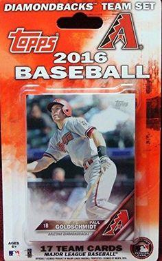 Arizona Diamondbacks 2016 Topps MLB Baseball Factory Sealed Special Edition 17 Card Team Set with Paul Goldschmidt plus