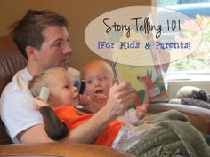 Tons of suggestions for storytelling with kids