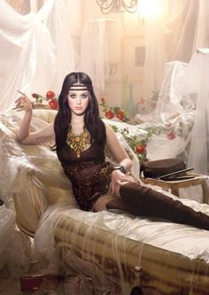 Katy Perry GHD Shoot