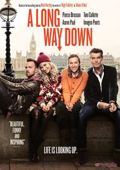 A Long Way Down: Pierce Brosnan, Toni Collette, Imogen Poots, Aaron Paul, Pascal Chaumeil
