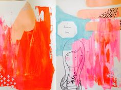 Art Book 2014 by Shelby Ling, via Behance