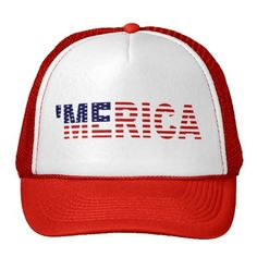 The Original 'MERICA U.S. Flag Trucker Hat $16.95