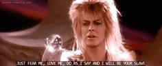 bowie labyrinth fear me - Google Search