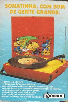 Sonatinha Turma da Mônica #infância #nostalgia