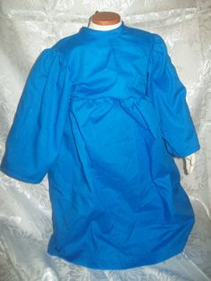 Toddler bright royal blue chemise size 2T by MladysCoutorier, $15.95