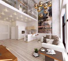 Home Designing — (via Large Wall Art For Living Rooms: Ideas &...