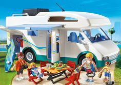 This adorable Summer Camper is one of the new Playmobil sets for 2016. It's our absolute favorite!