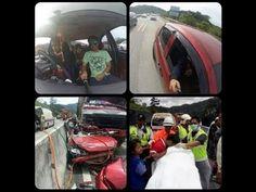 Ngeri - Selfie Terakhir Sebelum Kemalangan Maut Di Tol Jelapang