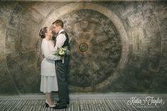 Toronto City Hall Wedding - The iconic wall shot! Gotta do it.
