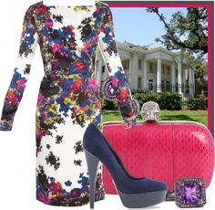"""""""A Garden Party"""" by ssquared on Polyvore"""